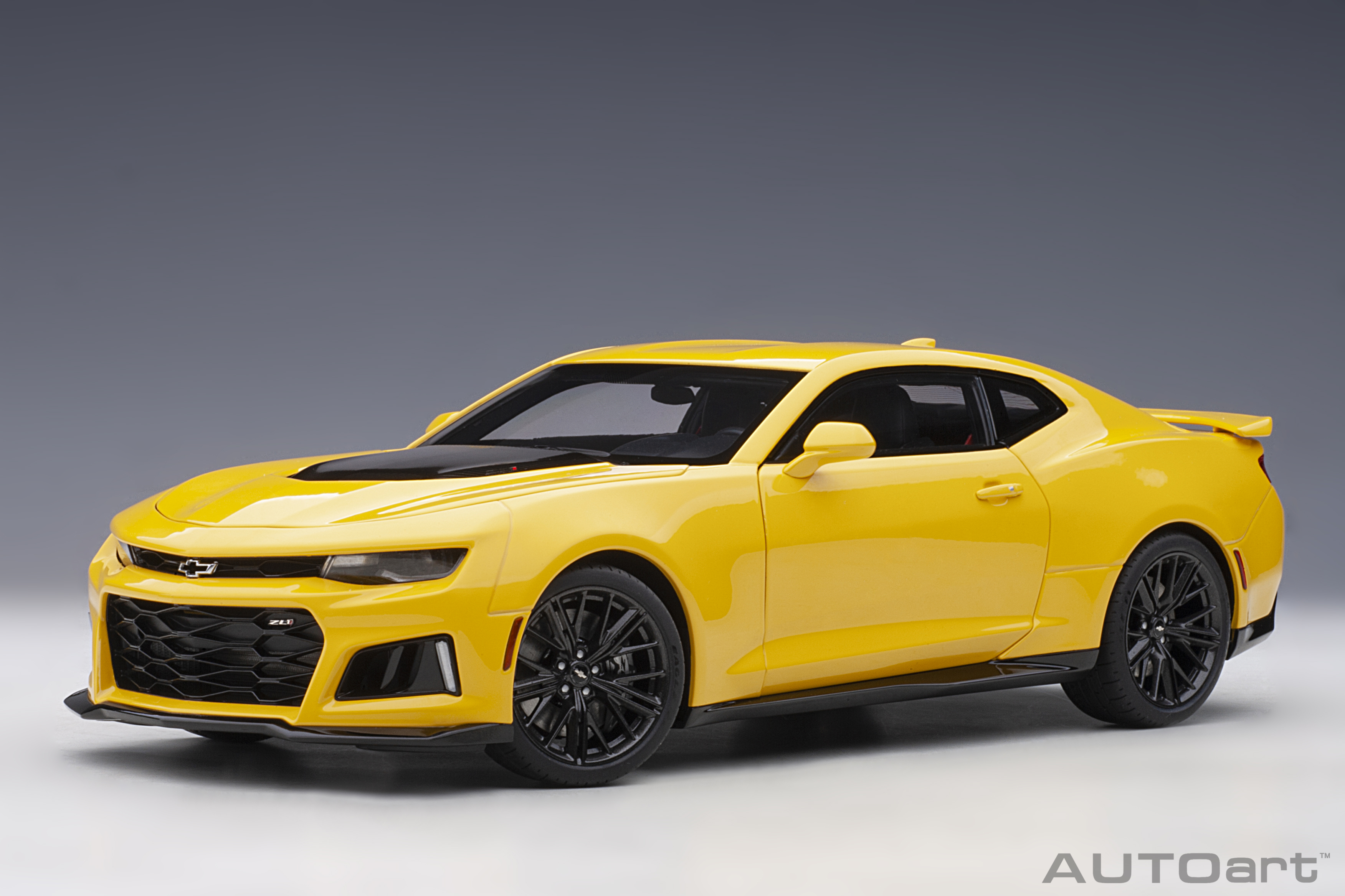 1:18 Chevrolet Camaro ZL1 2017 (Bright Yellow)