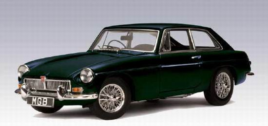 1:18 MGB COUPE MKII 1969 GREEN