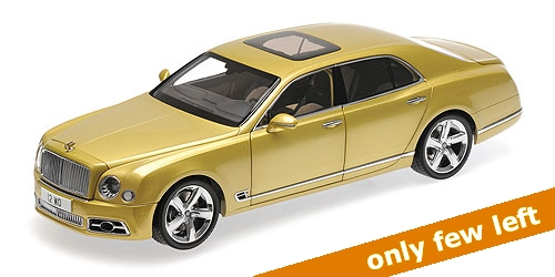 1:18 BENTLEY MULSANNE SPEED - 2017 -