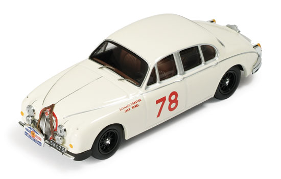 1:43 JAGUAR MK II NO78 WINNER TOUR DE FRANCE 1960