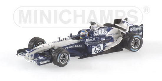 1:43 WILLIAMS BMW FW27 N.ROSBERG TEST 2005