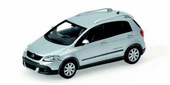 1:43 VW GOLF CROSS 2006 SILVER