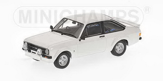 1:43 FORD ESCORT II RS 1800 RALLY WHITE