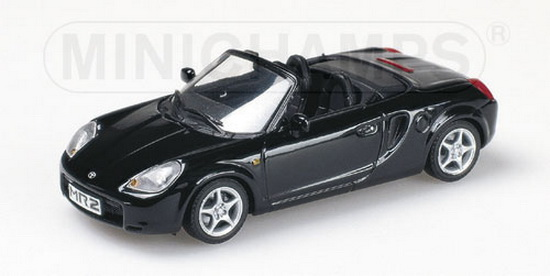 1:43 TOYOTA MR 2 CABRIO 2000 BLACK
