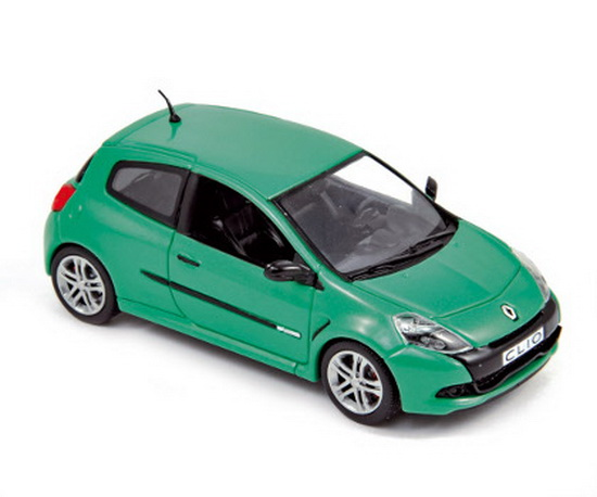 1:43 RENAULT CLIO RS 2009 GREEN