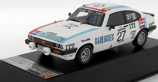 1:43 FORD CAPRI III 3.0S 24H SPA 1980 no27 JAUSSAUD / THERIER