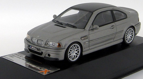 1:43 BMW M3 CSL 2003 STEEL GREY METALLIC