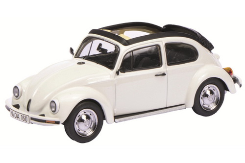 1:43 VW Kaefer Open Air, white