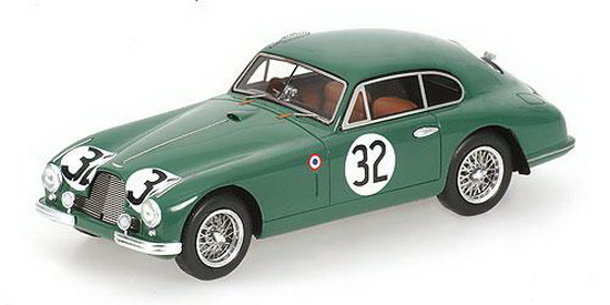 1:43 ASTON MARTIN DB2 LE MANS 1952 NO32 CLARKE/KEEN 7TH