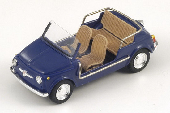 1:43 FIAT 500 JOLLY 1962 DARK BLUE