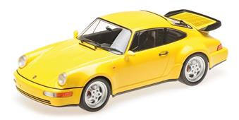 1:18 PORSCHE 911 TURBO (964) - 1990 - YELLOW