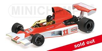 1:18 MCLAREN FORD M23 - JAMES HUNT - SOUTH AFRICAN GP 1976