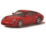1:64 PORSCHE 911 / 997 / CARRERA S RED