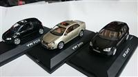 3ks VOLKSWAGEN SET 1:43 VW GOLF, JETTA, FOX