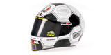 1:2 AGV HELMET V.ROSSI MOTO GP BARCELONA 2008 Limited edition No. 001/999