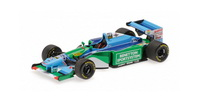 1:43 BENETTON FORD MICHAEL SCHUMACHER WORLD CHAMPION AND WINNER MONACO 1994