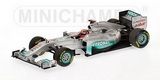 1:43 MERCEDES SHOWCAR 2011 M.SCHUMACHER