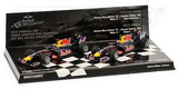 1:43 RED BULL DOUBLE SET 2010 WORLD CONSTRUCTERS CHAMPIONSHIP