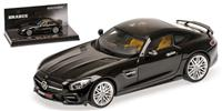 1:43 BRABUS 600 AUF BASIS MERCEDES-BENZ AMG GTS - 2016 - BLACK