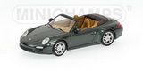 1:64 PORSCHE 911 CARRERA S CABRIO 2008 GREEN METALLIC