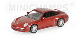 1:64 PORSCHE 911 CARRERA 4S 2008 RED METALLIC