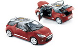 1:18 CITROEN DS3 2012 RED / WHITE ROOF