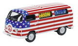 1:87 VW T2 BUS USA HIPPIES