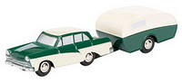 1:90 PICCOLO Ford 17M with caravan