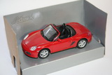 1:43 PORSCHE BOXTER RED