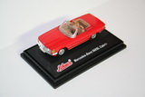 1:72 MERCEDES 560 SL CABRIO RED