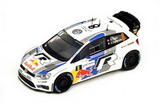 "1:43 VW Polo WRC No.8 ""World Champion"" French Rally 2013 - S. Ogier - J. Ingrassia"